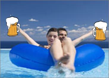 beer buoyant