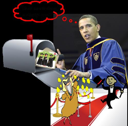 obama send off