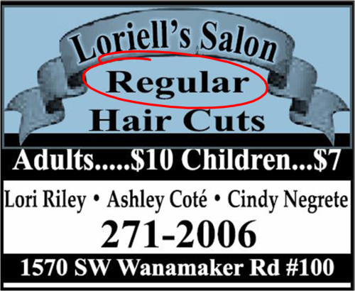 regular haircut