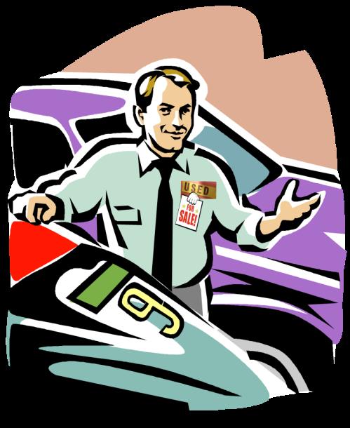 preowned car salesman