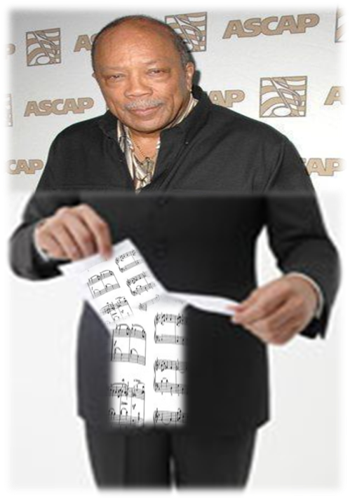 quincy jones tears up