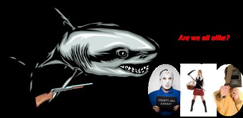 sharks hunt like serial killers